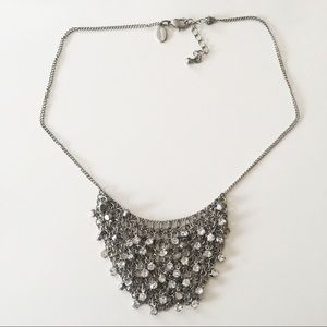 Webbed Rhinestone Necklace NEVER WORN/DISCONTINUED